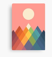 Rainbow Peak Canvas Print