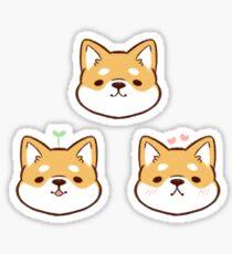Shiba Inus (Original Set) Sticker