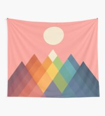Rainbow Peak Wall Tapestry