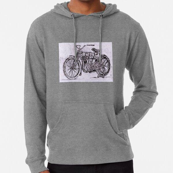 Like a Panhead ZIP Hoodie Biker Harley Davidson