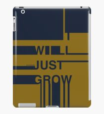 Procrastination iPad Case/Skin