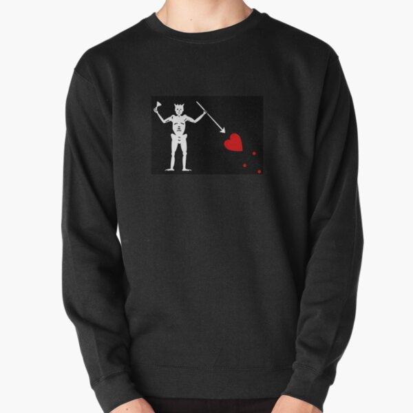 Pirate Flag - Blackbeard Pullover Sweatshirt