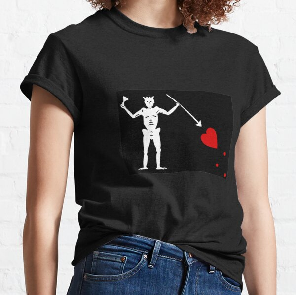 Pirate Flag - Blackbeard Classic T-Shirt