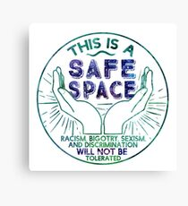 Safe Space Canvas Print