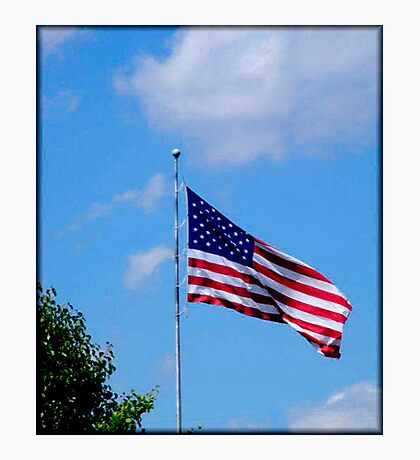 Happy 4th of July America! (please read description) Photographic Print
