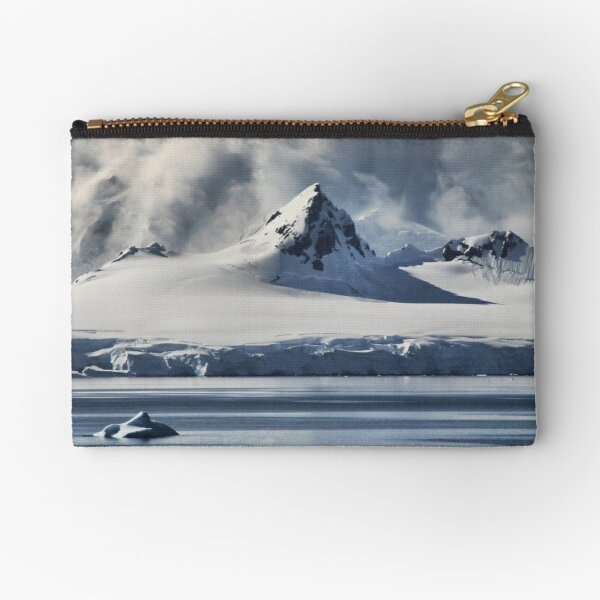 Pristine Antarctica Zipper Pouch
