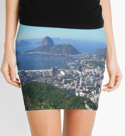 Rio de Janeiro from above Mini Skirt