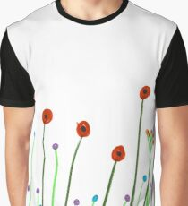 Poppies. Graphic T-Shirt