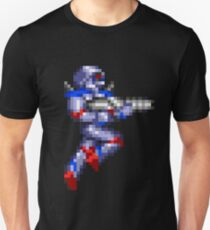 Turrican Pixel Art T-Shirt