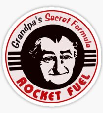 Grandpa's Secret Formula Rocket Fuel Sticker