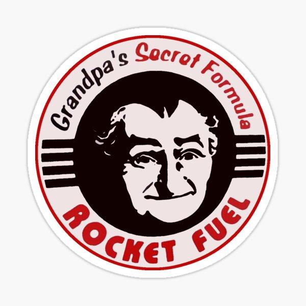 Grandpa's Secret Formula Rocket Fuel Sticker