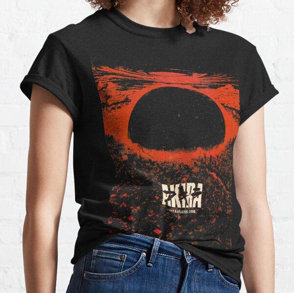 Akira cyberpunk city explosion poster Classic T-Shirt