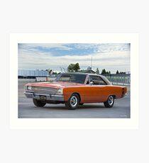 1969 Dodge Dart Swinger Art Print