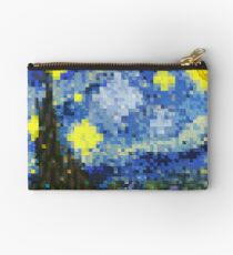 8-bit Starry Night Studio Pouch