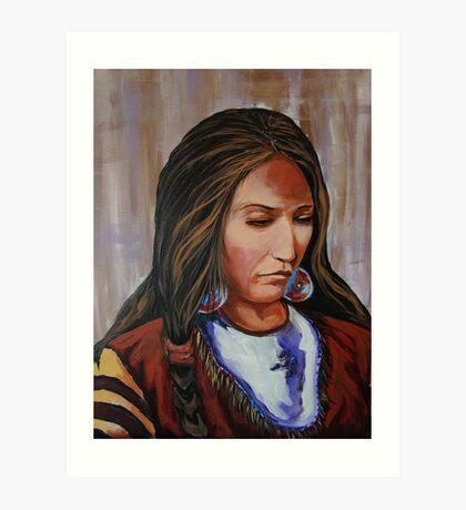 The Shaman's Daughter Art Print