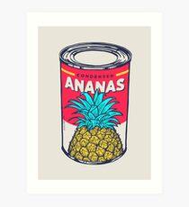 Condensed ananas Kunstdruck
