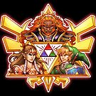 Champions of the TriForce  by Figment Forms