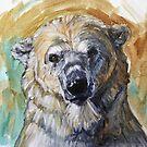 Polar Bear Cuteness by Christine Montague