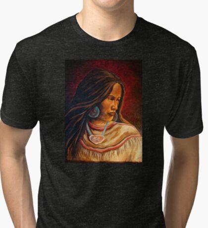 """Turquoise"" Tri-blend T-Shirt"
