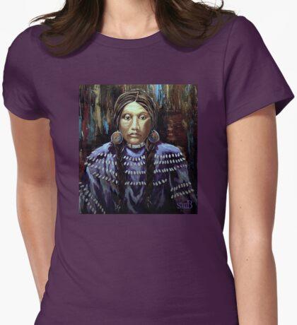"""Purple Dress With Shells"" T-Shirt"