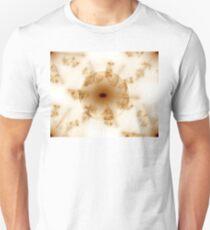 Brwon Glass Abstract Globe T-Shirt