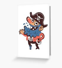 Y'arrrrr tee Greeting Card