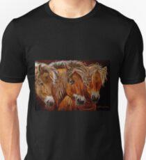"""""""Larry,Curlie and Moe"""" Unisex T-Shirt"""