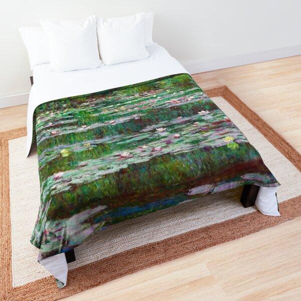 High Resolution Monet - The Japanese Footbridge Comforter