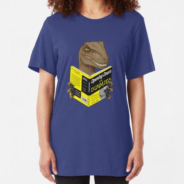 Opening Doors for Dummies Slim Fit T-Shirt