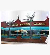 Beer Barrel Saloon Poster