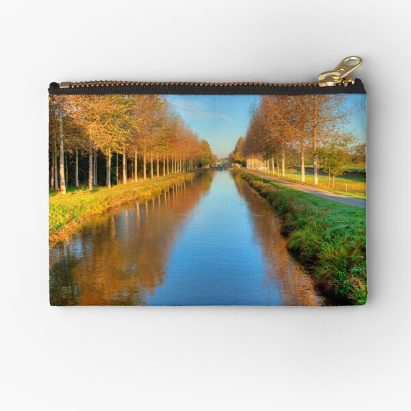 Morning On The Ladders Zipper Pouch