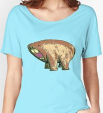 Hippo Hamster Hybrid Women's Relaxed Fit T-Shirt
