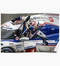 Motorsport Toyota Le Mans  Poster