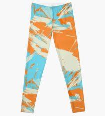 Miami Vice Dolphin Orange Crush Leggings