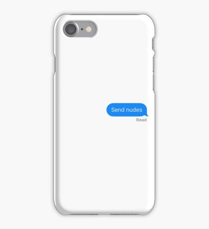 Send Nudes iPhone Case/Skin