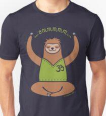 Om Yoga Sloth Unisex T-Shirt