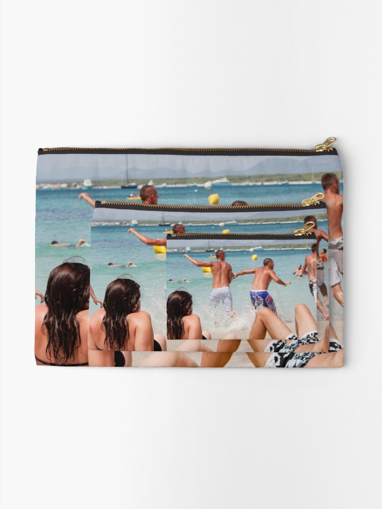 Alternate view of rest & play Zipper Pouch