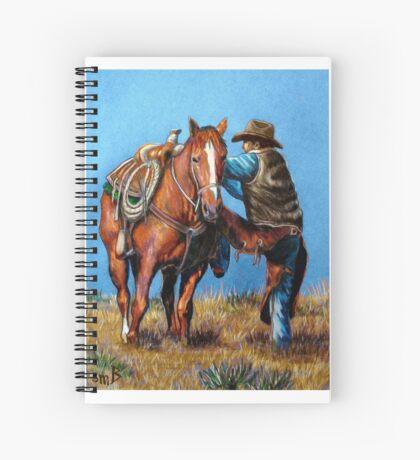 """""""Cowboy Up"""" Spiral Notebook"""