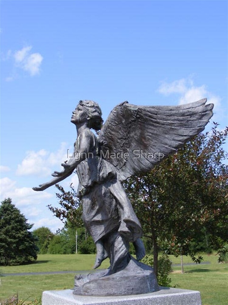 Angel of Hope (version two) by Marie Sharp