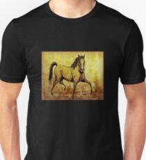 """""""The Golden Horse"""" Unisex T-Shirt"""