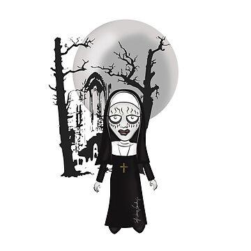 Wicked Nun by MomOfCreatures
