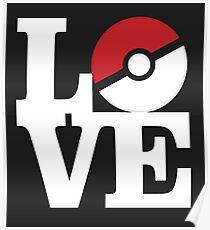 Love Pokemon Poster