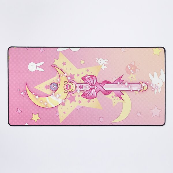 Moon wand stick, Cardcaptor Sakura, Sailor moon, magical girl Desk Mat