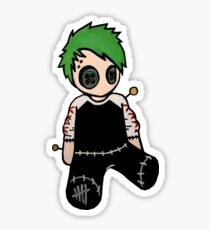 Michael Clifford Voodoo Doll Sticker