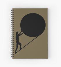 Cuaderno de espiral Sísifo, el rey de Ephyra