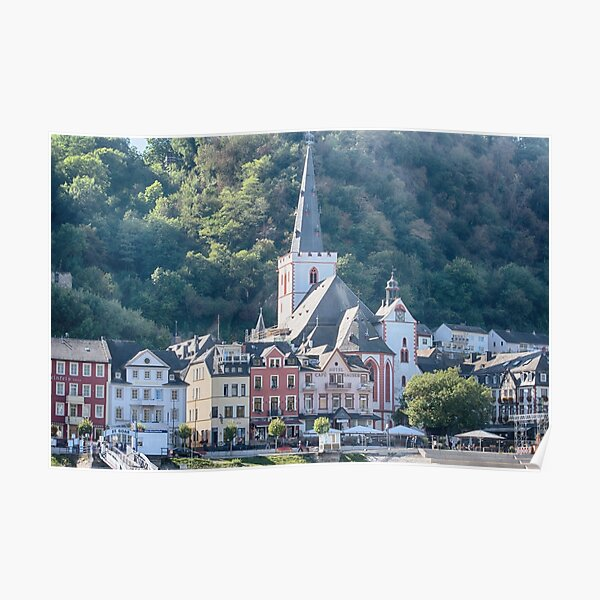 St. Goar along the Rhine Poster