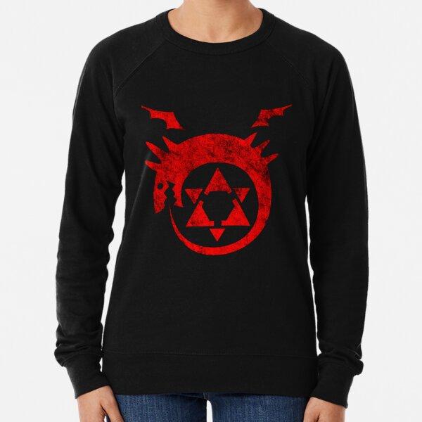° MANGA ° Full Metal Ouroboros Rust Logo Lightweight Sweatshirt