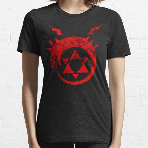 ° MANGA ° Full Metal Ouroboros Rust Logo Essential T-Shirt