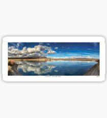 High Desert Lake Sticker