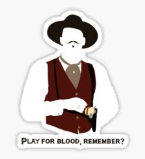 Tombstone: Play For Blood Sticker